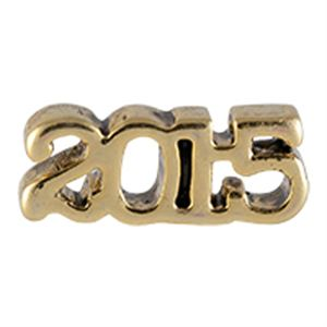 Picture of Gold 2015 Charm