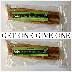 Picture of 6 inch Bully Sticks (3 Pack) [QTY: 2; #GOGO]